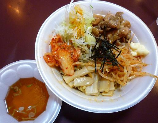 『浜そば』@ラーメンフェスタin中山競馬場 「浜辛そば(一口スープ付)」 900円