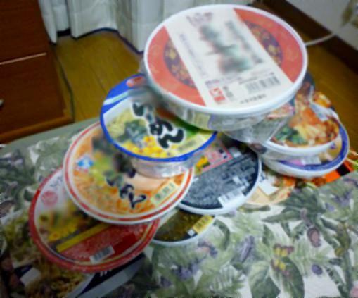 カップ麺食べ比べ12個(其の1)
