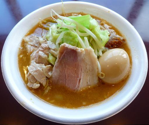 『麺や 福一』@ラーメンフェスタ IN NAKAYAMA 「鶏郎」900円+「味玉」100円