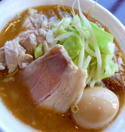 『麺や 福一』@ラーメンフェスタ IN NAKAYAMA 「鶏郎」(アップ)