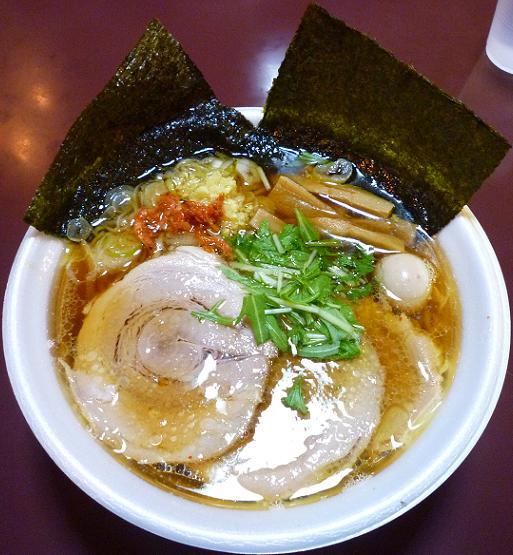 『ガガガ職堂』@ラーメンフェスタ IN NAKAYAMA 「生姜醤油麺」900円