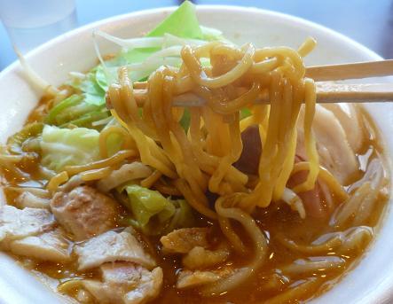 『麺や 福一』@ラーメンフェスタ IN NAKAYAMA 「鶏郎」(麺リフト)
