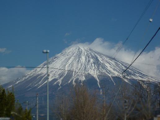 2010年1月の富士