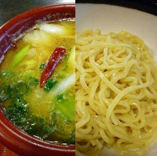 『雁家』 つけ麺(鴨汁)アップ