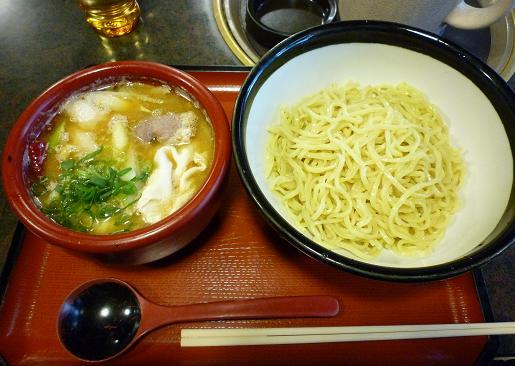 『雁家』 つけ麺(鴨汁) 880円(※ランチ時)