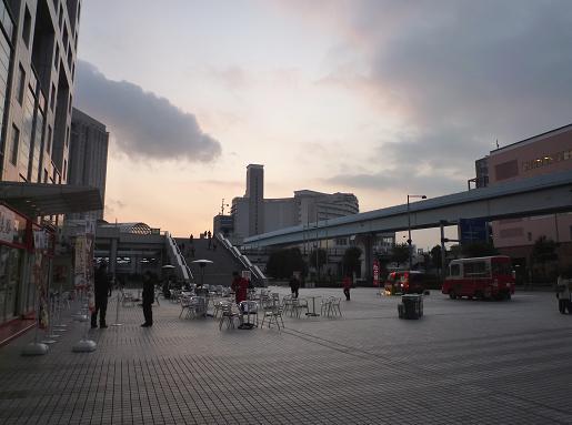 お台場ラーメンPARK(2010年2月18日の夕景)