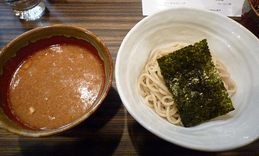 『縄麺 男山』 男山つけ麺(レセプション特別・麺ハーフ)