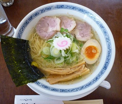 『洋食とんかつ フリッツ』 支那そば(塩味)800円