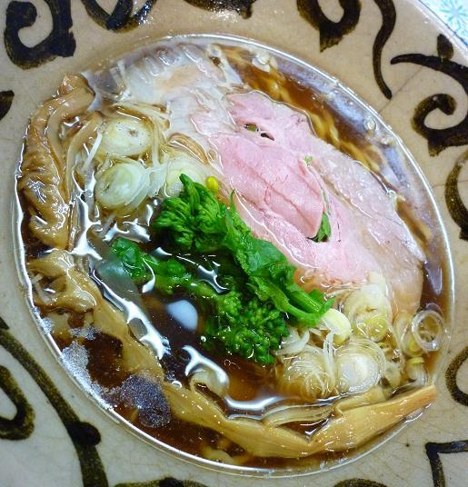『ラーメン こぶ志』 塩・出汁系 もみもみ金メる(2010年2月限定・醤油味)アップ
