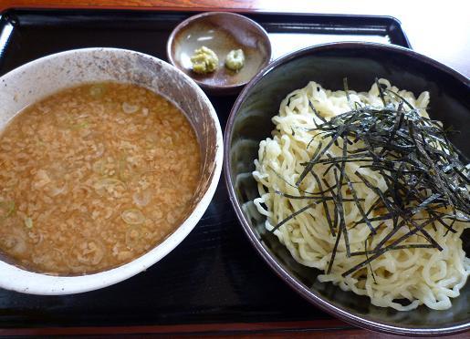 『黒はせ川』 つけ麺(しお)650円