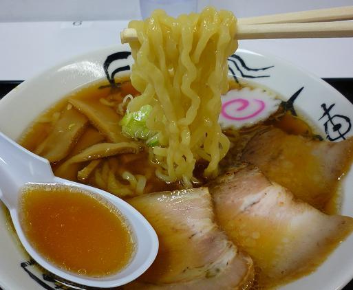 『はせ川』@福島物産展 「ラーメン」 麺リフト