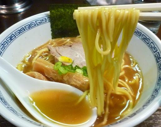 『はやし』 らーめん(麺リフト)