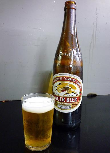 『ミツワ』 瓶ビール(大)