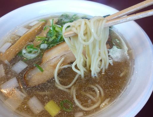 『凪』@ラーメンフェスタ IN NAKAYAMA 「特級煮干そば」麺リフト