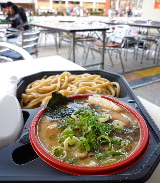 『つけめん三三七』@お台場 「濃厚鶏つけ麺」(アップ)