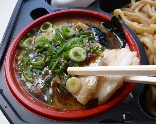 『つけめん三三七』@お台場 「濃厚鶏つけ麺」つけ汁