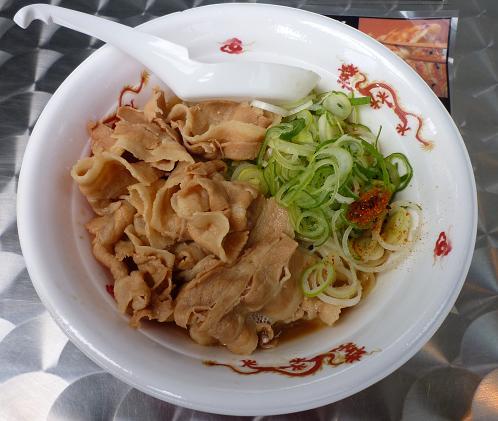 『長尾中華そば』@お台場ラーメンPARK 「ぶっこく麺」800円