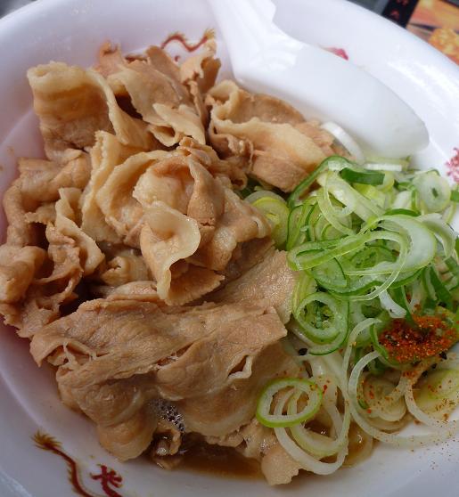 『長尾中華そば』@お台場ラーメンPARK 「ぶっこく麺」アップ