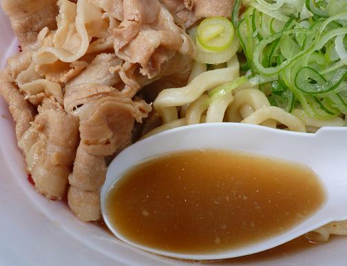 『長尾中華そば』@お台場ラーメンPARK 「ぶっこく麺」スープ