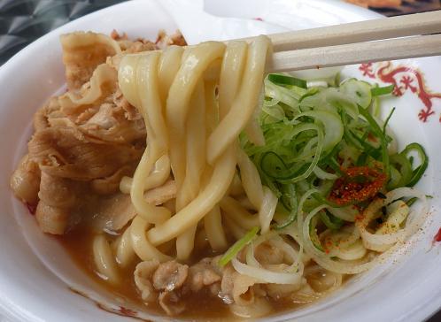 『長尾中華そば』@お台場ラーメンPARK 「ぶっこく麺」麺リフト