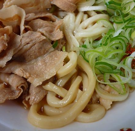 『長尾中華そば』@お台場ラーメンPARK 「ぶっこく麺」麺アップ