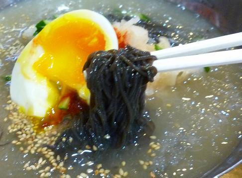 『葛冷麺』 葛水冷麺(麺リフト)