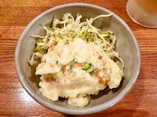 『秀』 ポテトサラダ(280円)