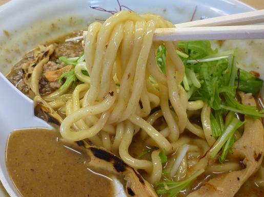 『太麺堂』 太煮干しラーメン(麺リフト)