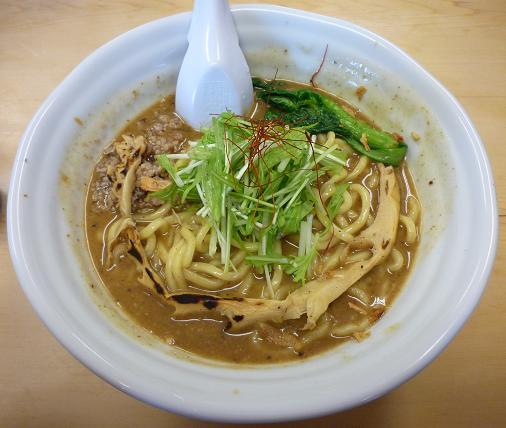 『太麺堂』 太煮干しラーメン(700円or800円)