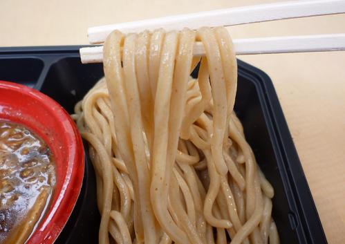 『中華そば とみ田』@大つけ麺博in六本木ヒルズ 「つけ麺」麺リフト