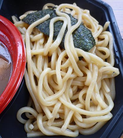 『無鉄砲 無心』@大つけ麺博in六本木ヒルズ 「つけ麺」麺アップ