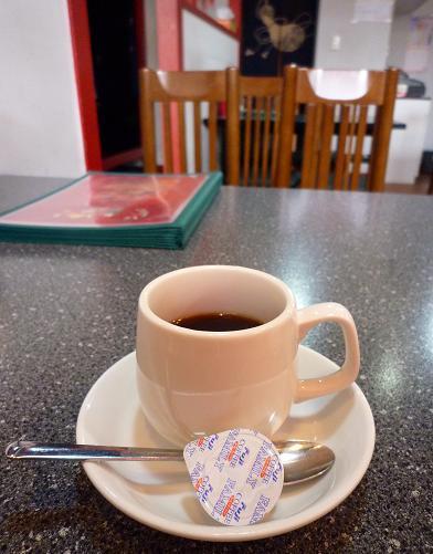 『海華 青砥店』 Cランチのコーヒー