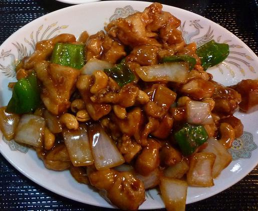 『海華 青砥店』 鶏肉とカシューナッツ炒め(Cランチ)
