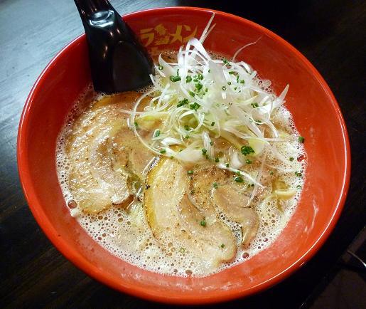 『ラーメン海鳴』 魚介とんこつ(700円)