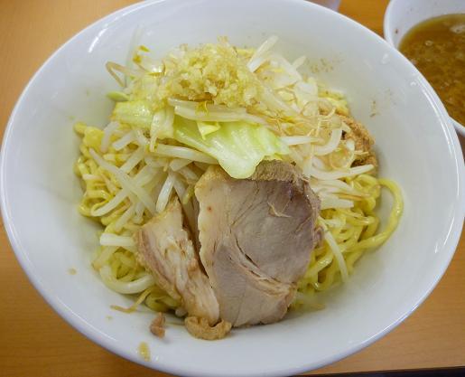 『○菅』 つけ麺(ニンニク) 麺の器