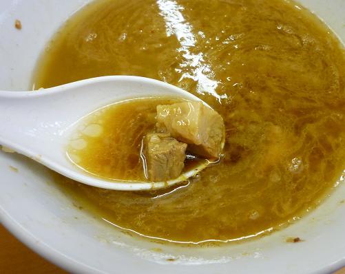 『○菅』 つけ麺(ニンニク) つけ汁