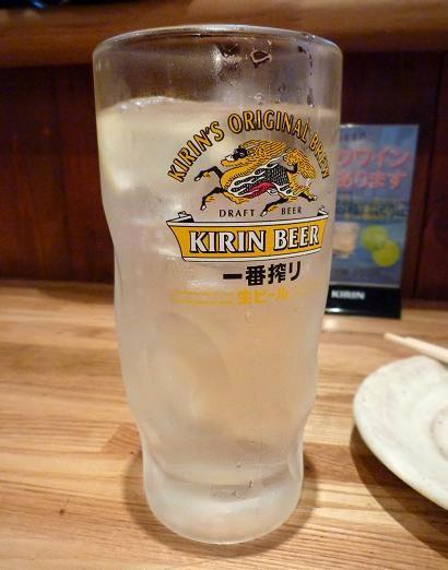 『鳥の山家』 チューハイ(350円)