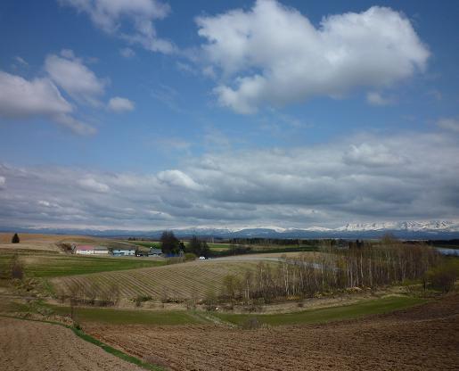 美馬牛の景色(2010年5月)