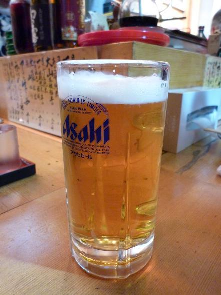 『おふくろの味 御多幸』 生ビール