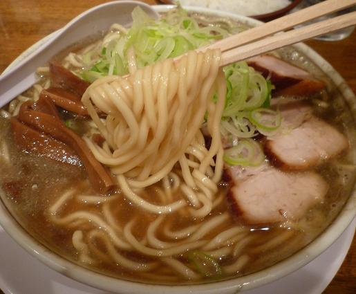 『中華そば つし馬』 バリ煮干しそば(麺リフト)