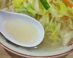 『タンメンしゃきしゃき』@錦糸町 タンメン(スープ)