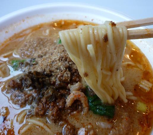 『阿吽』@「最強ラーメン烈伝 in 赤坂サカス」 芳醇ゴマラーメン(麺リフト)
