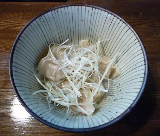 『麺屋 なごみ』 水餃子(350円)
