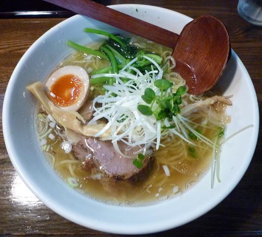 『麺屋 なごみ』 塩そば(680円)