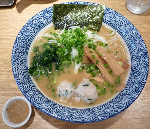『麺屋 一燈』 濃厚魚介らーめん(750円)