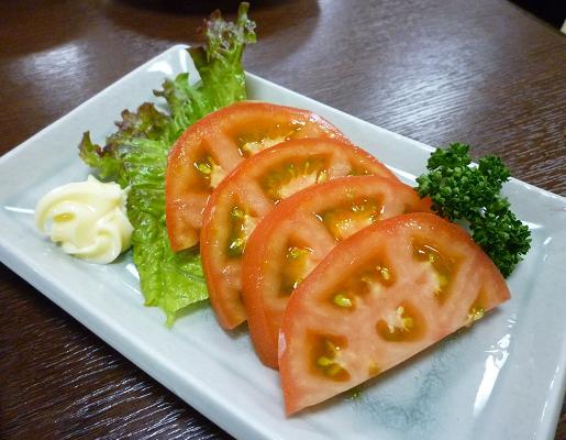 『風来坊 栄店』 トマトスライス