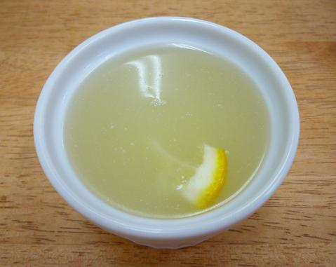 『波(シー)』 オー麺(アサリと柚子のスープ)