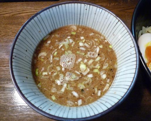 『麺屋 なごみ』 つけ麺(並盛200g) つけ汁