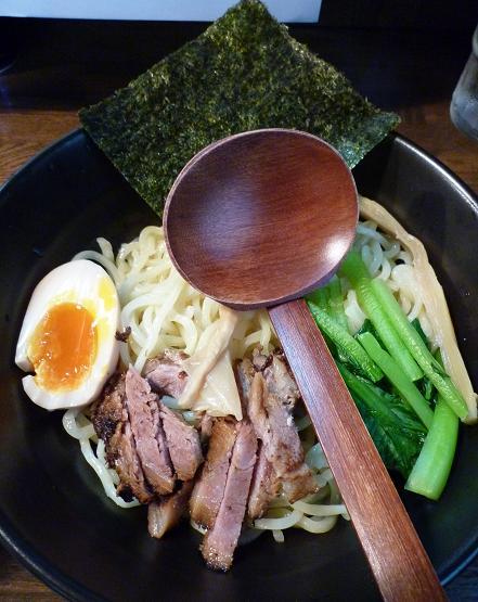 『麺屋 なごみ』 つけ麺(並盛200g) 麺アップ