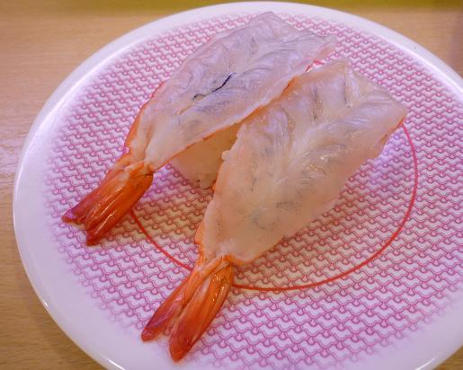 『かっぱ寿司 葛飾立石店』 生海老